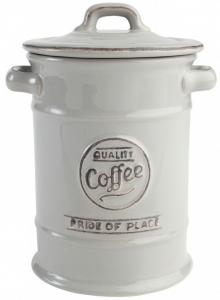 Ёмкость для хранения кофе Pride of Place 12X12X18 CM Cool Grey