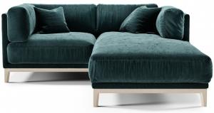 Угловой модульный диван Case 188X195X80 CM