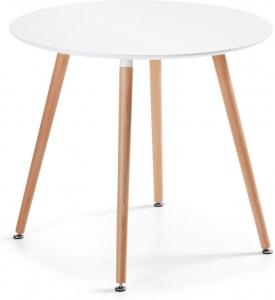 Круглый белый стол Wad 100X100X73 CM