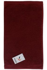 Полотенце для рук Essential 50X90 CM бордового цвета