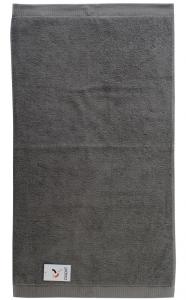 Полотенце банное 70X140 CM темно-серого цвета