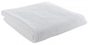 Полотенце банное 140X70 CM белого цвета