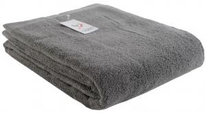 Полотенце банное 150X90 CM темно-серого цвета