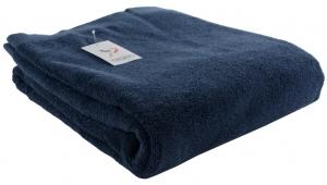 Полотенце банное 150X90 CM темно-синего цвета