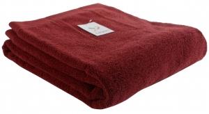 Полотенце банное 150X90 CM бордового цвета