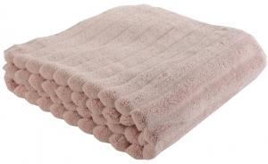 Полотенце банное waves 140X70 CM цвета пыльной розы
