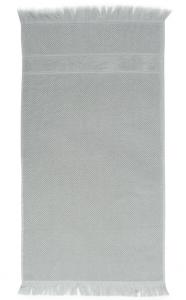 Банное полотенце с бахромой 70X140 CM серого цвета
