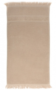 Банное полотенце с бахромой 70X140 CM бежевого цвета