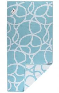 Жаккардовое полотенце Gravity 140X70 CM голубого цвета