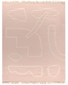 Ковер ручной работы из шерсти и хлопка Poetry and Steps 160X230 CM