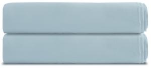 Простыня на резинке из перкаля TK18 200X180 CM голубая