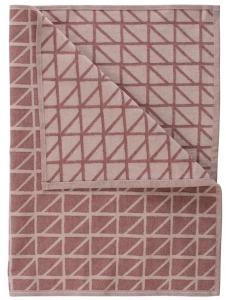 Кухонное полотенце Twist 70X45 CM бордового цвета