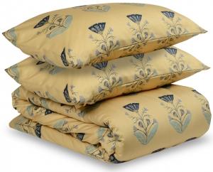 Комплект постельного белья полутораспальный из сатина Summer flower