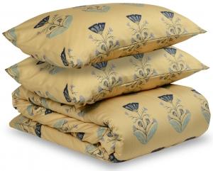 Комплект постельного белья двуспальный из сатина Summer flower