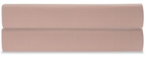 Простыня на резинке из сатина Essential 160X200X28 CM цвета пыльной розы