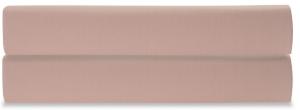 Простыня на резинке из сатина Essential 180X200X28 CM цвета пыльной розы