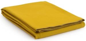 Покрывало из фактурного хлопка Essential 250X180 CM горчичного цвета