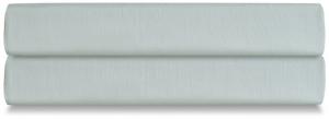 Простыня на резинке из сатина Wild 180X200X30 CM мятного цвета