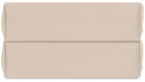Простыня на резинке из органического стираного хлопка Essential 180X200X35 CM бежевого цвета