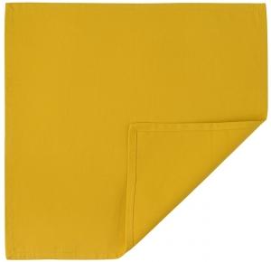 Салфетка сервировочная из хлопка Prairie 45X45 CM горчичного цвета