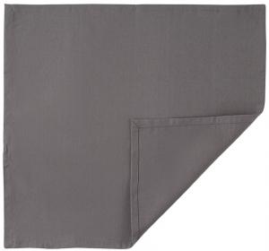 Салфетка сервировочная из хлопка Prairie 45X45 CM серого цвета