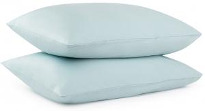 Набор наволочек из сатина Essential 50X70 CM голубого цвета