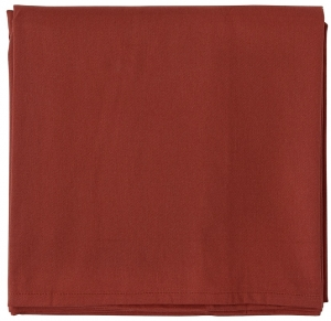 Скатерть из хлопка Prairie 170X170 CM терракотового цвета