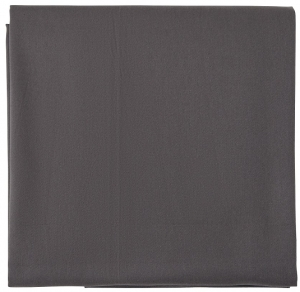 Скатерть из хлопка Prairie 170X170 CM серого цвета