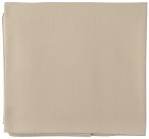 Скатерть из хлопка Essential 170X170 CM бежевого цвета