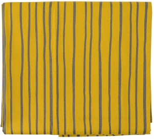 Скатерть из хлопка Prairie 170X170 CM горчичного цвета