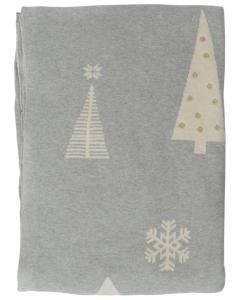 Плед из хлопка Christmas Tree Essential 130X180 CM