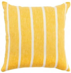 Чехол на подушку декоративный Essential 45X45 СМ горчичного цвета