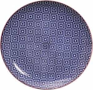 Тарелка Geo Eclectic Ø21 CM D/Blue