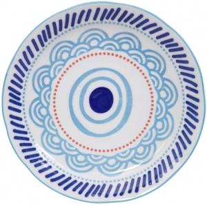 Тарелка Ethnic Ø24 CM L.Blue