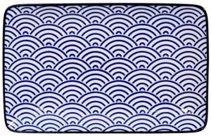 Тарелка Nippon Blue 21X14 CM