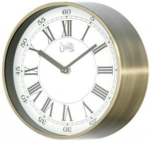 Настенные часы в металлическом корпусе UTS Ø20 CM античное золото