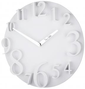 Настенные часы в пластиковом корпусе UTS Ø32CM белые
