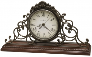 Каминные часы с рамой из кованого железа Adelaide 39X10X23 CM
