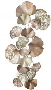 Декоративное настенное панно Leaves 62X131 CM