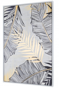 Постер с элементами из золотой фольги Jungle 60X90 CM