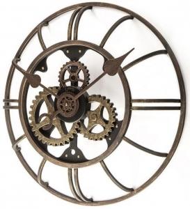 Часы из железа Hemisphere 51X51X12 CM