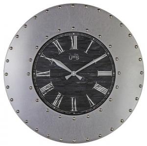 Кварцевые настенные часы из металла Iron Ø45 CM