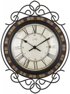 Настенные часы в кованом корпусе Bling 25X34 CM