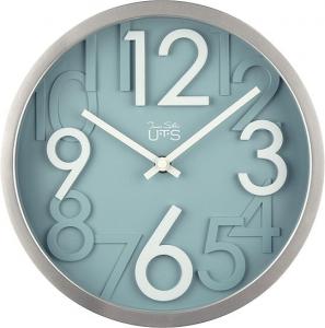 Стильные настенные часы White and Blue Ø26 CM