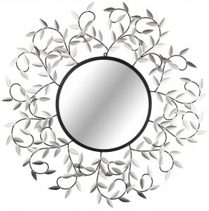 Декоративное настенное зеркало Ø84 CM