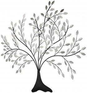 Декоративное панно в виде дерева 91X101 CM