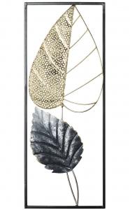 Декоративное настенное панно из стали Autumn 20X50 CM