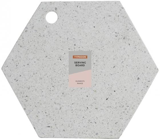 Доска сервировочная Elements Hexagonal 30X30 CM 6