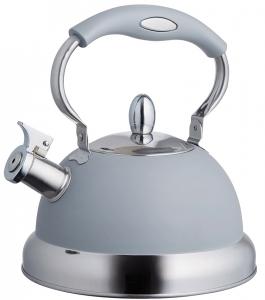 Чайник со свистком Living 2.5 L серый