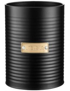 Ёмкость для столовых приборов Otto 11X11X15 CM чёрная